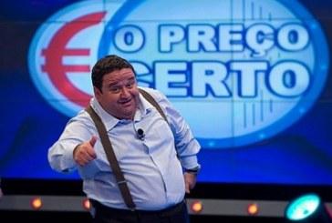 """Após semanas, """"O Preço Certo"""" recupera liderança e vence TVI"""