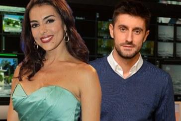 Catarina Furtado e Daniel Oliveira de costas voltadas na SIC