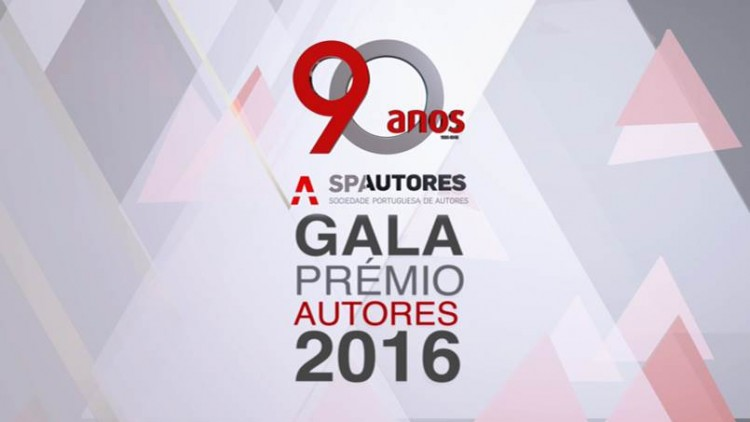"RTP2 emite ""Prémios Autores 2016"""