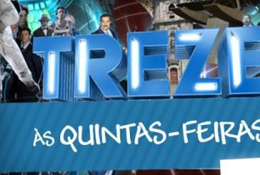 """Treze"" regressa à RTP1 em abril"