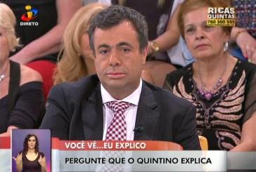 Quintino Aires gera polémica no programa