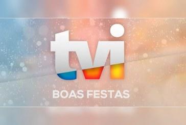 Veja como fica a programação do Dia de Natal da TVI… ao minuto
