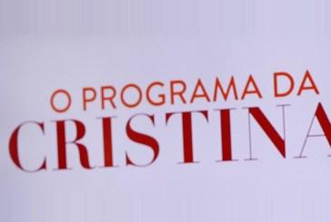 Em direto, Cristina anuncia interrupção do programa e explica tudo! [vídeo]