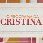 """""""O Programa da Cristina"""" marca o seu pior share e não chega aos 30%"""