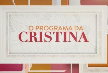 """Um ano depois, SIC dá novo cenário a """"O Programa da Cristina"""""""