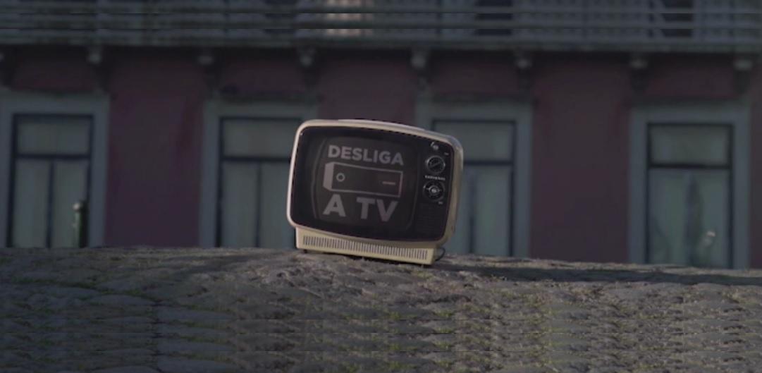 desliga a tv