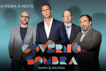"""Audiências: Veja como foi a estreia do """"Governo Sombra"""" na SIC"""
