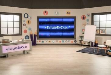 #EstudoEmCasa: E assim foi a audiência do primeiro dia da Telescola