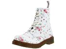 Dr. Martens - 1460 W 8-Eye Boot (White/Portland Rose) - Footwear