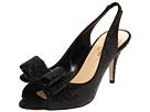 Kate Spade New York - Sawyer (Black Sequins/Black Satin) - Footwear