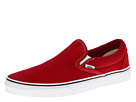 Vans - Classic Slip-On ((Canvas) Chili Pepper) - Footwear