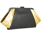 Z Spoke ZAC POSEN - Posen Clutch (Black/Gold/Oil Tan/Cork) - Bags and Luggage