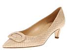 Kate Spade New York - Simon (Beige Shiny Snake) - Footwear