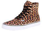 Vans - Authentic Hi ((Leopard) Black/True White) - Footwear