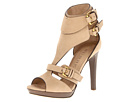 Burberry - Buckle Detail Nubuck Sandals (Sand) - Footwear