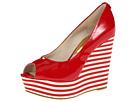 MICHAEL Michael Kors - Adalia Peep (Red Patent) - Footwear
