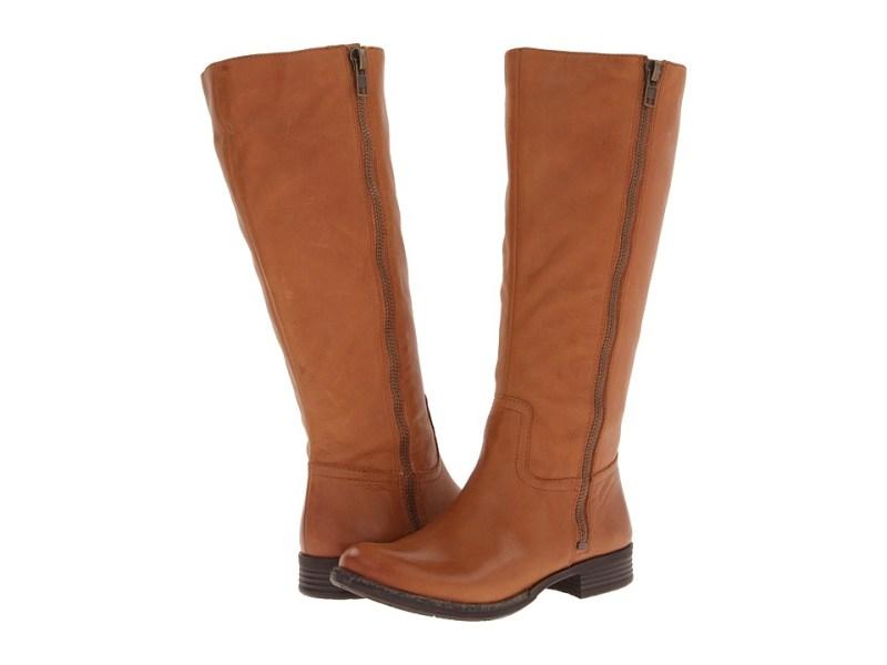 d9b5d8ba86fb Naya Abira Wide Shaft (Spice Girl Tan Leather) Women s Boots
