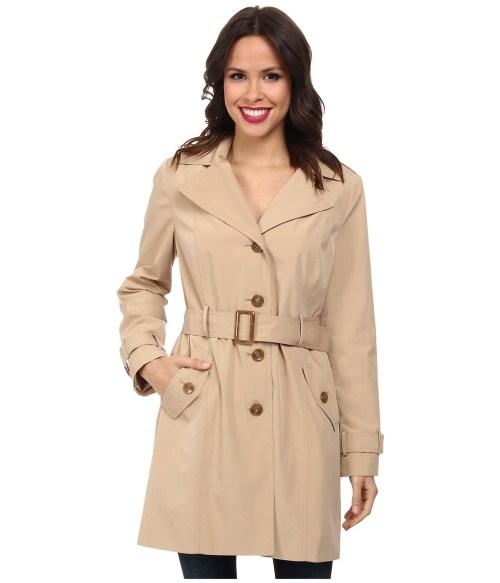 Calvin Klein Hooded Trench Coat for Women