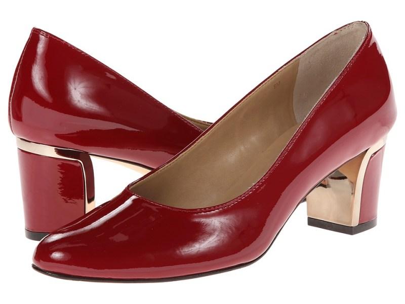 Vaneli Diesis (Dark Red Mag Patent/Cappuccino S&L) Women's Shoes