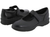 Propet Mary Jane Walker Medicare/HCPCS Code = A5500 Diabetic Shoe (Black Leather) Women's Shoes