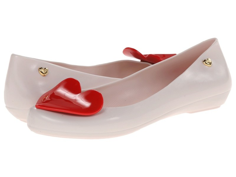 Mel by Melissa Mel Pop VIII (Beige Red) Women's Slippers