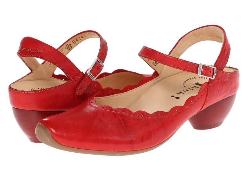 Think! - Aida Damen - 84247 (Kirsch/Kombi) Women's 1-2 inch heel Shoes