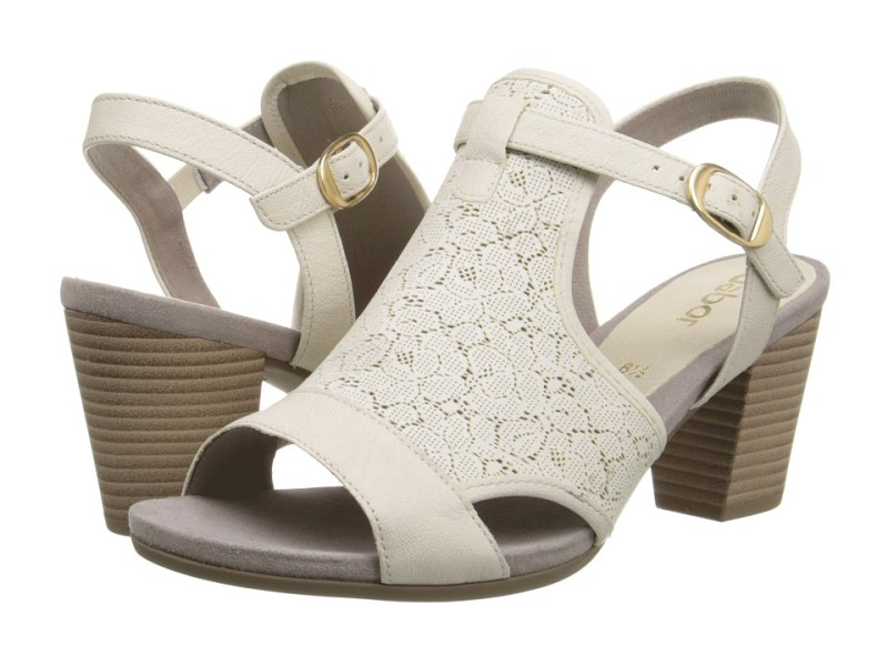 Gabor - Gabor 2.5550 (Milk Soft Sheep/Laser) High Heels