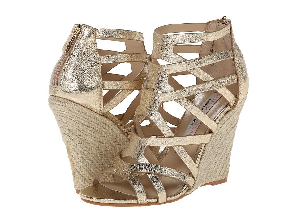 Chinese Laundry - Kristin Cavallari - Lux (Light Gold Metallic) Women's Wedge Shoes