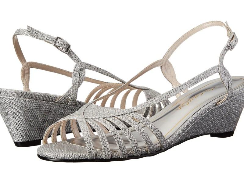 Caparros - Tango (Light Silver Sparkle) Women's Shoes