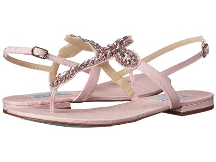 Blue by Betsey Johnson - Gem (Pink) Women's Sandals