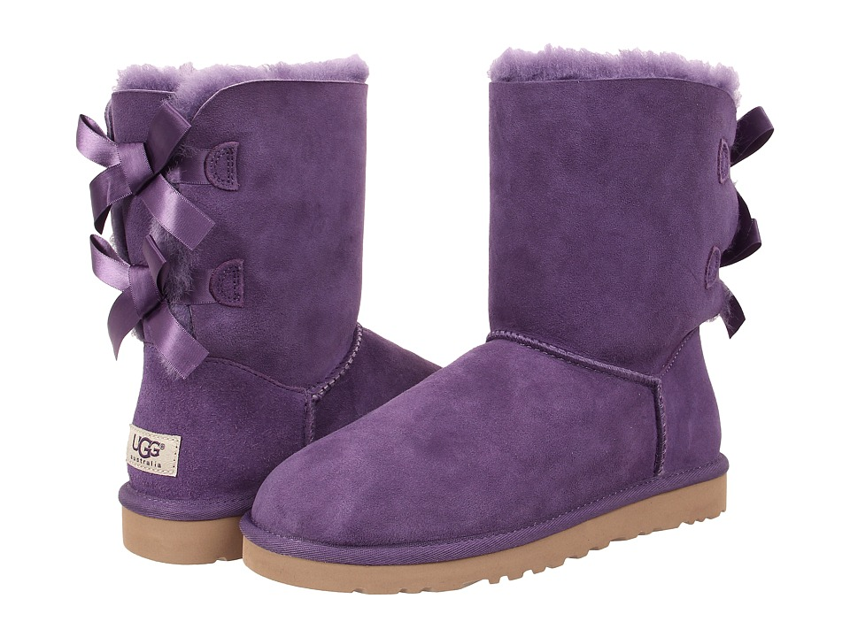 UGG - Bailey Bow (Bilberry Twinface) Women's Boots