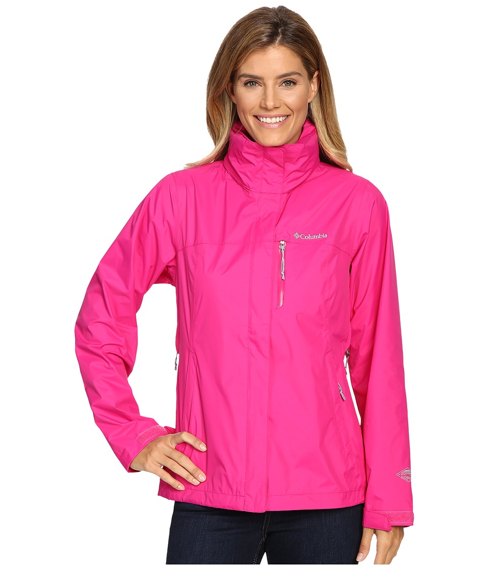 Columbia - Pouration Jacket (Haute Pink) Women's Coat