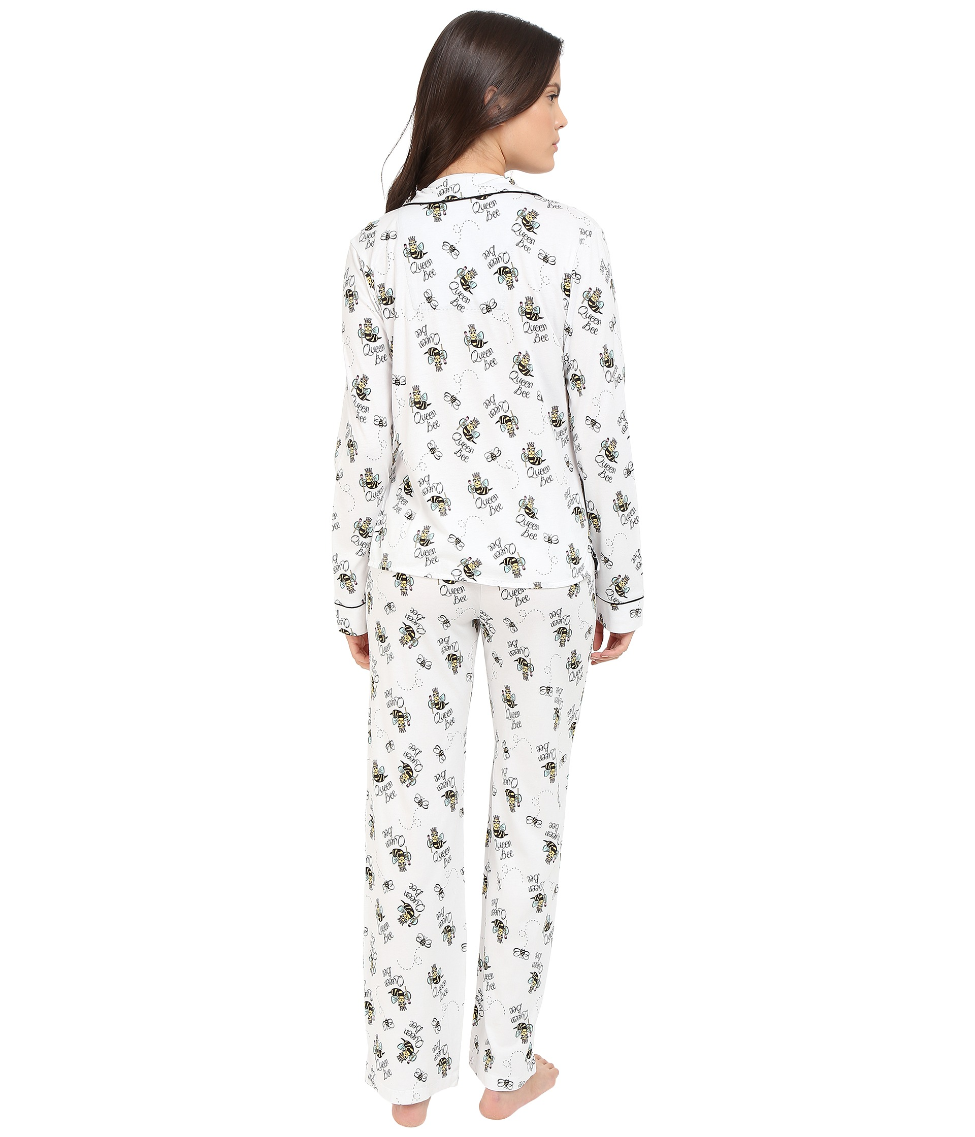 P J Salvage Queen Bee Pj Set Ivory