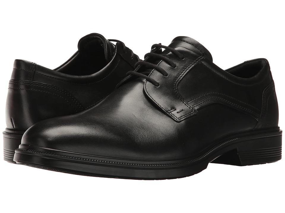 ECCO Lisbon Plain Toe Tie Men's Plain Toe Shoes