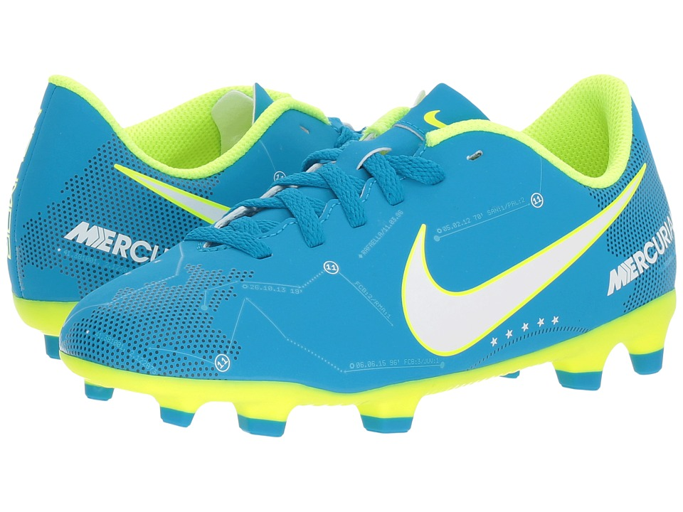 Nike Kids Mercurial Vortex III Firm Ground Soccer Cleat Toddler Little Kid Big Kids Shoe