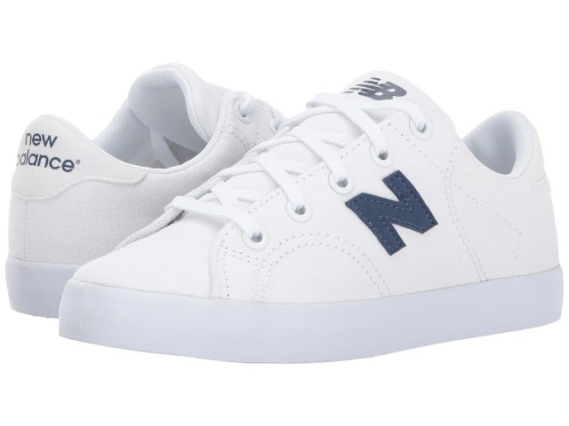 New Balance Kids - Pro Court (Little Kid/Big Kid) (White/Navy) Boys Shoes