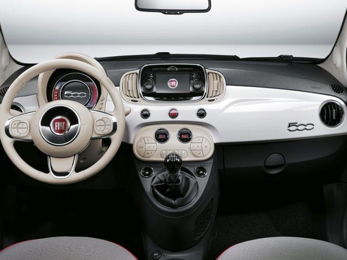Conducir un Fiat 500 - Imagínate ganando el sorteo y conduciendo este estupendo Fiat 500 completamente gratis durante un año con el CJE