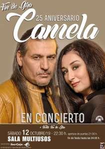 Camela - Fin de gira 25 aniversario en la Sala Multiusos de Zaragoza