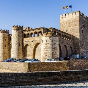 El palacio de la Aljafería
