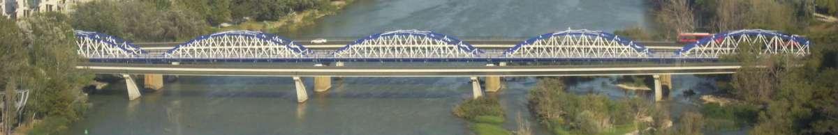 puente de hierro panorámica
