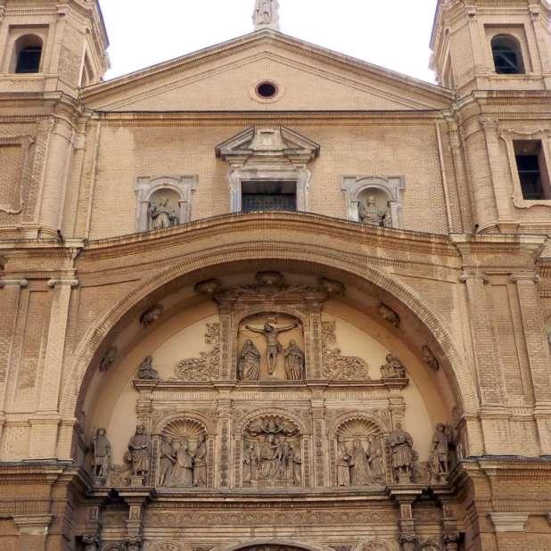 Fuente InSpain. Pórtico de la Basílica de Santa Engracia.