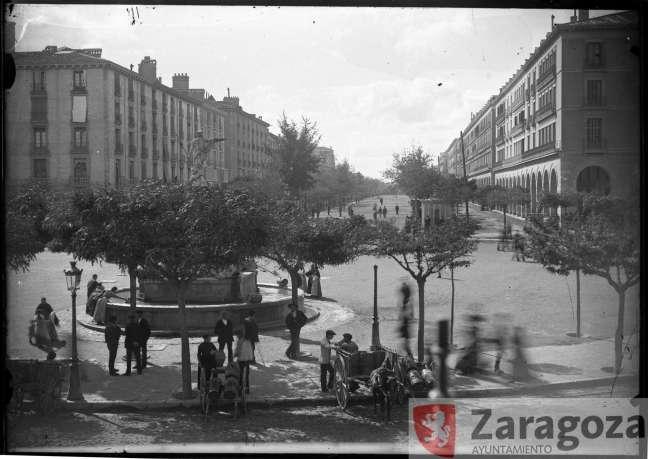 Paseo de la Independencia a principios de siglo