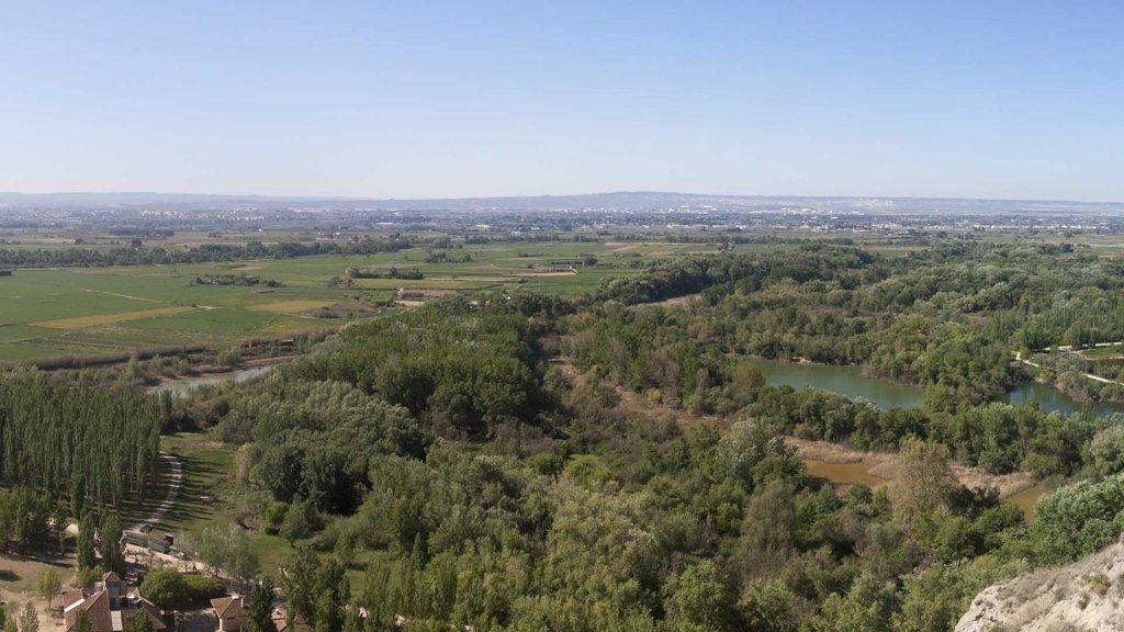 ruta en bici para hacer en Zaragoza