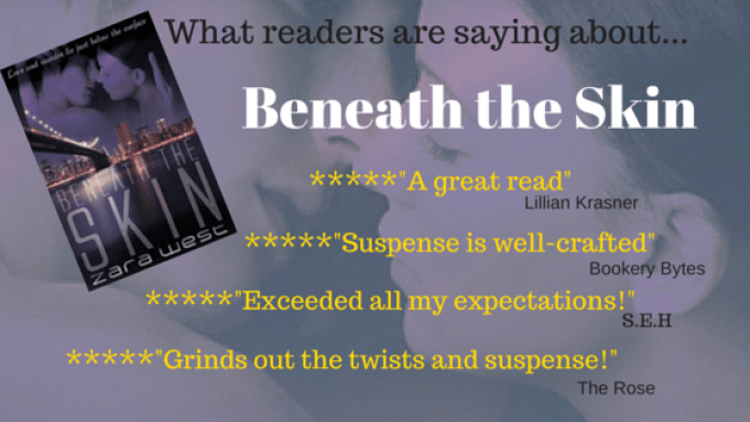 Beneath the Skin 5 Star Reviews