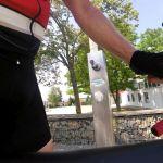 gut zu wissen, wo man bei der Hitze dir Flaschen nachfüllen kann...