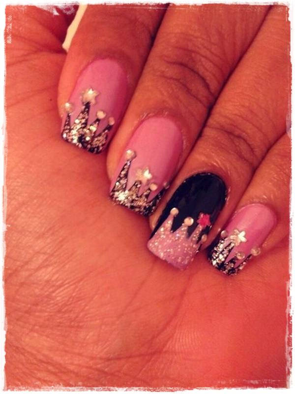 Acrylic Nail Art Designs 37