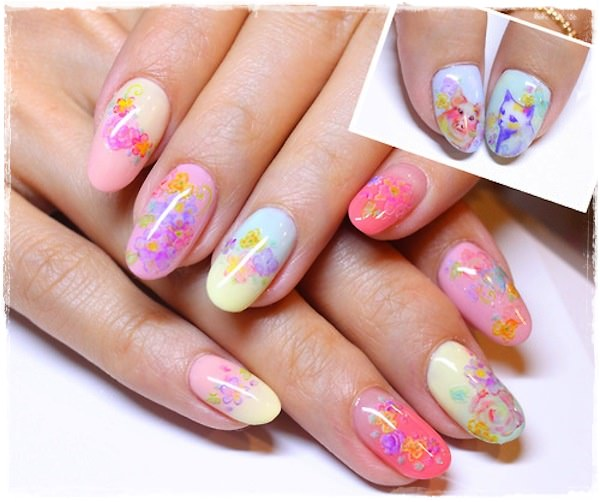 Acrylic Nail Art Designs 53