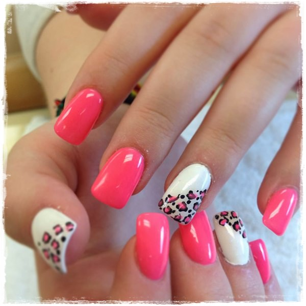 Acrylic Nail Designs Cute