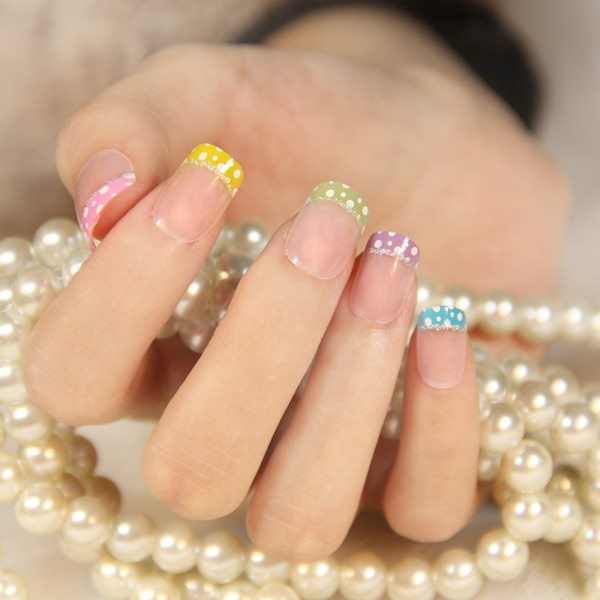 A Funky Tips Design Coupled With Some Glitter Will Certainly Catch The Eye Of People Around Get Ready To Be Showered Pliments