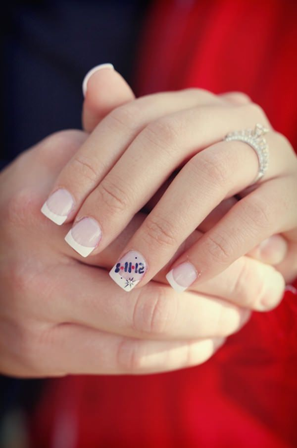 Prev Next French Tip Nail Designs Cute Nails